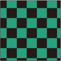 竈門炭治郎の羽織の模様