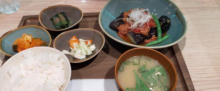 みのりカフェの日替わり定食
